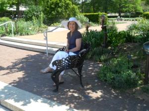 May, 2013 Missouri Botanical Gardens at Saint Louis Missouri.