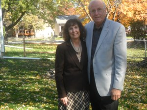 Protestant Christian Missionaries Norman and Selma Oetker November 2013 Saint Charles Missouri US.