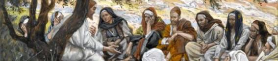 Jesus, Teaching His Disciples
