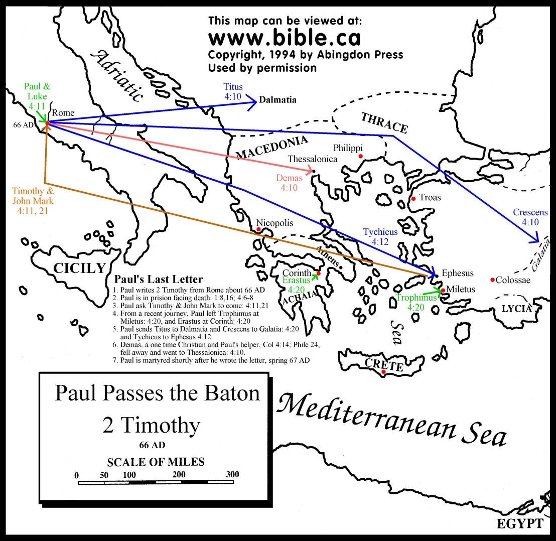 maps-paul-2-timothy