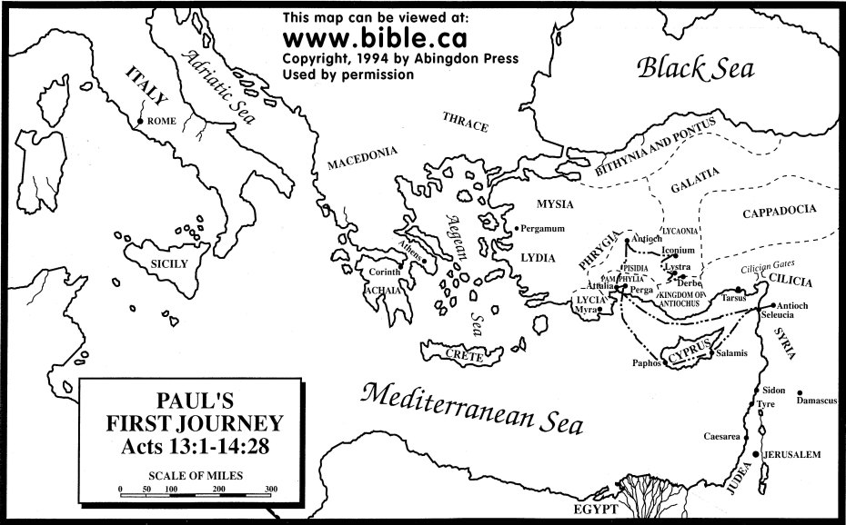 maps-pauls-first-journey
