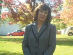 Missionary Selma Oetker at our home in Saint Charles Missouri US.