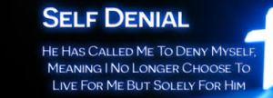 self denial