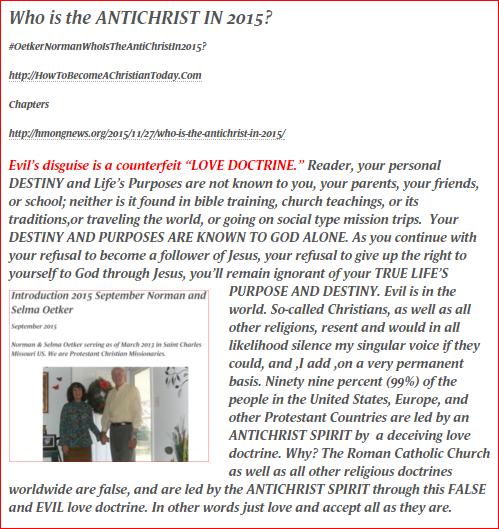 Antichrist 1 2015