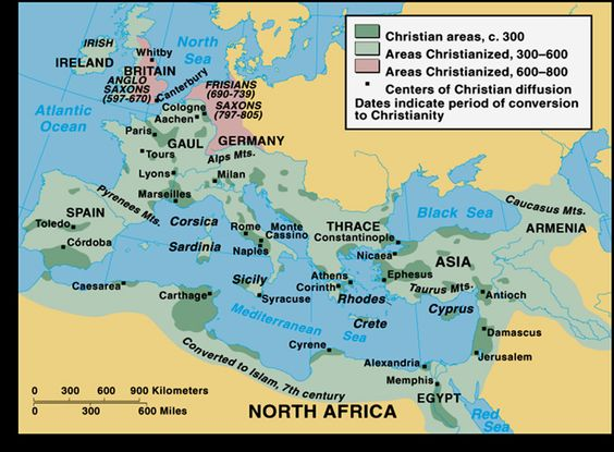 christian church 50ad.